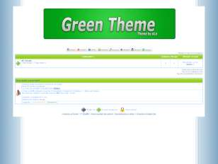 Green theme .