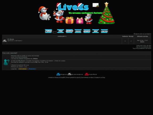 Livecs theme's cs