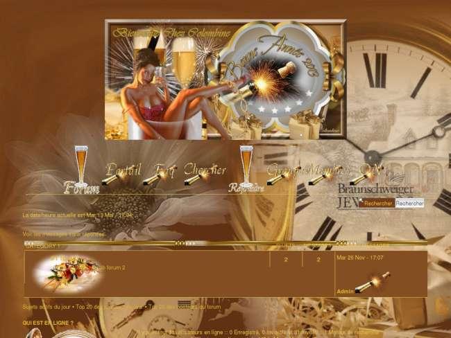 D tails du th me nouvel an 2013 - Theme nouvel an ...