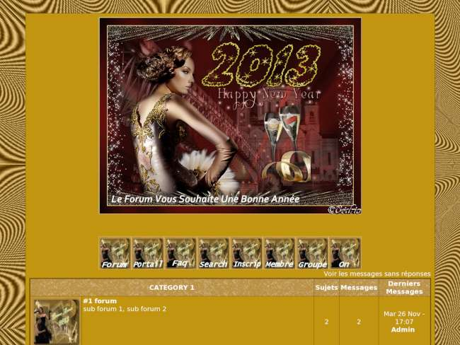 Theme happy new year 2013