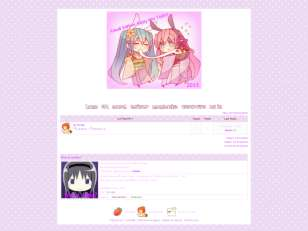 Purple theme kawaiirai...