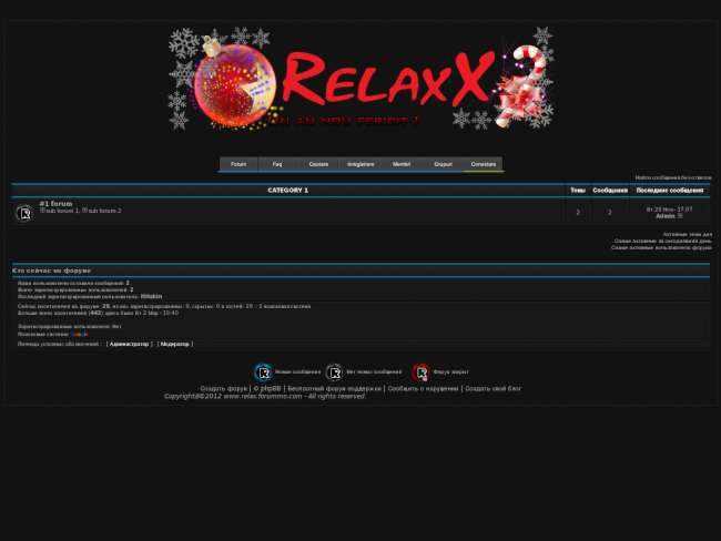 RelaxX #Comunity