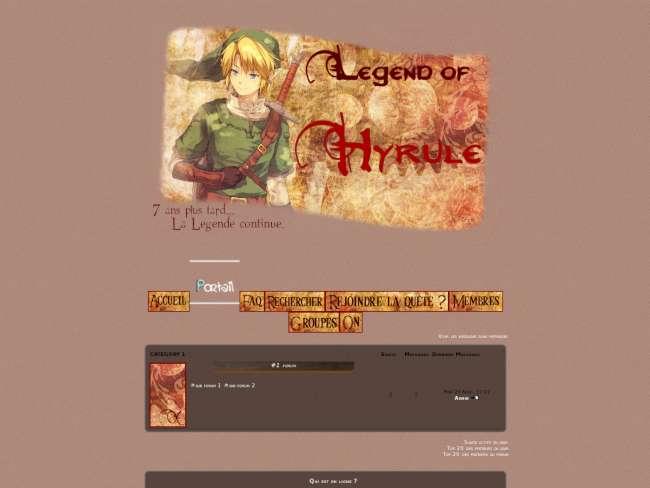 Legend of Hyrule I