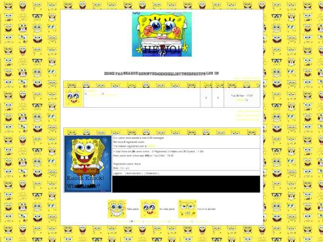 Spongebob! ^-^ (moddified)