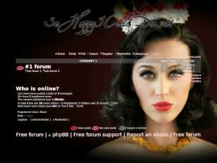 Katy perry forum: theme