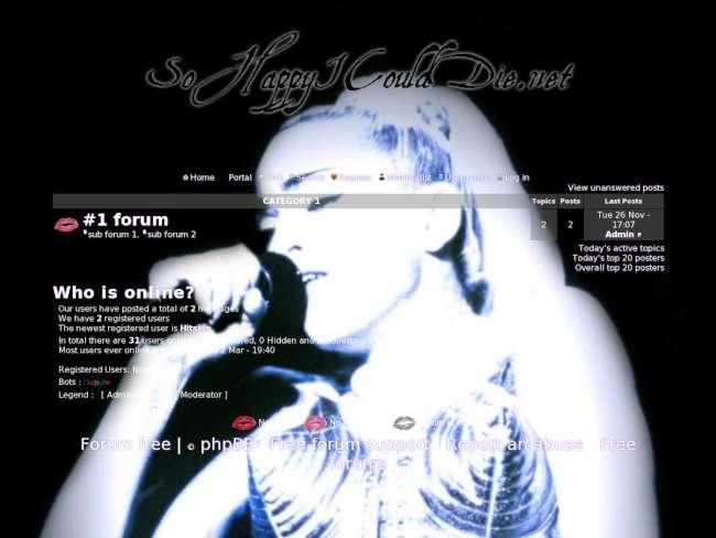 Madonna forum: theme