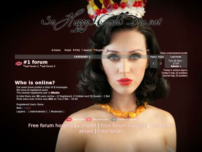 Katy Perry Forum: Theme (2)
