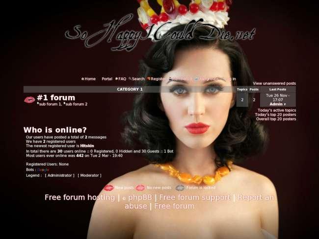 Katy perry forum: them...