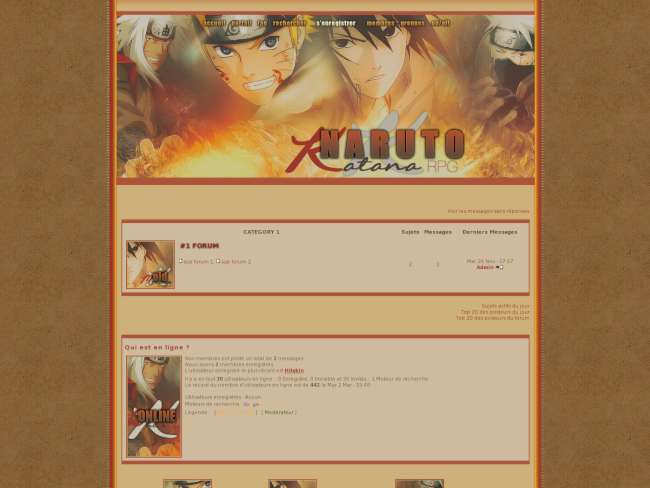 Naruto Katana RPG