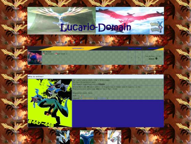 Lucario-Domain Rpg Pokemon X And Y 2013 Edition