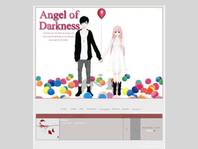 Angel of Darkness /ballons/
