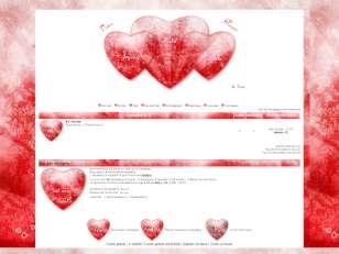Thème saint valentin