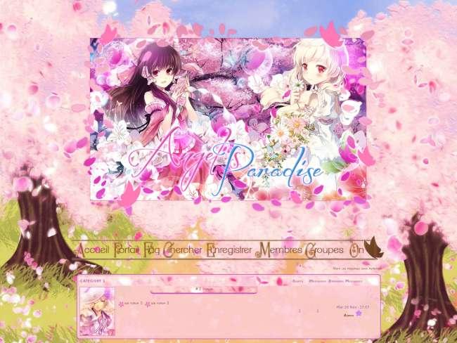 Angel's paradise printemps 2013