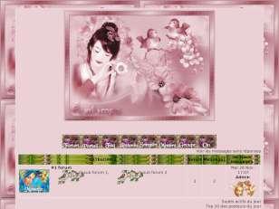 Theme printemps  roses