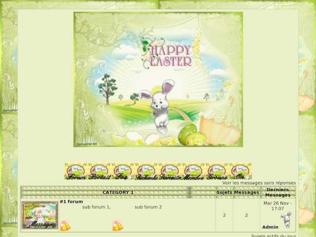 Theme happy easter paques
