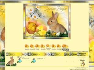Theme joyeuses pâques ...