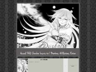Thème manga style blac...