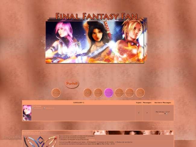 Final fantasy fan -the...