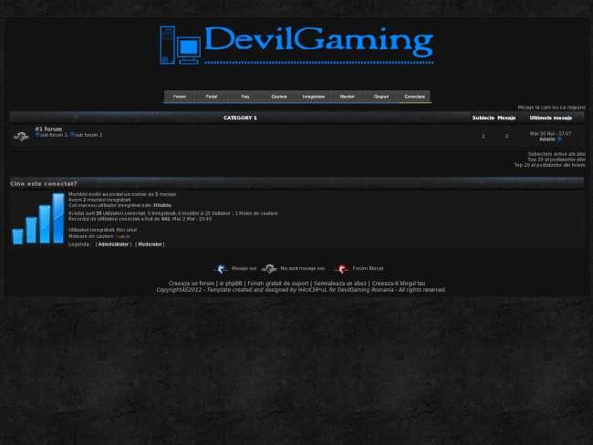 DevilGaming Black