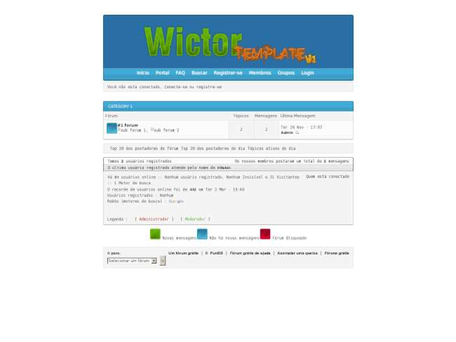 WictorP Template v1