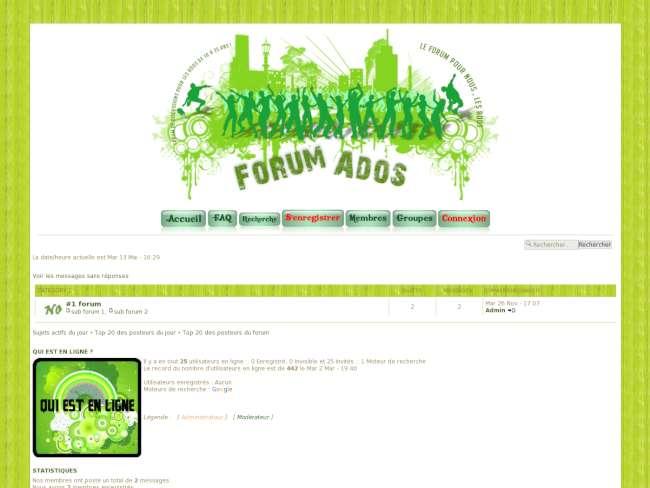Le forum pour nous, les ados ! 0