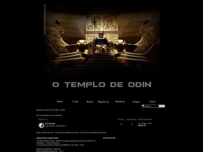 O Templo de Odin!#@