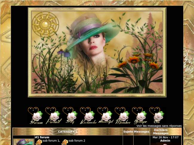 la belle aux fleure des champ dorer