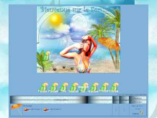 Theme summer holidays