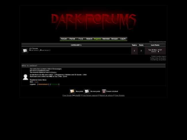 Dark Forums v2