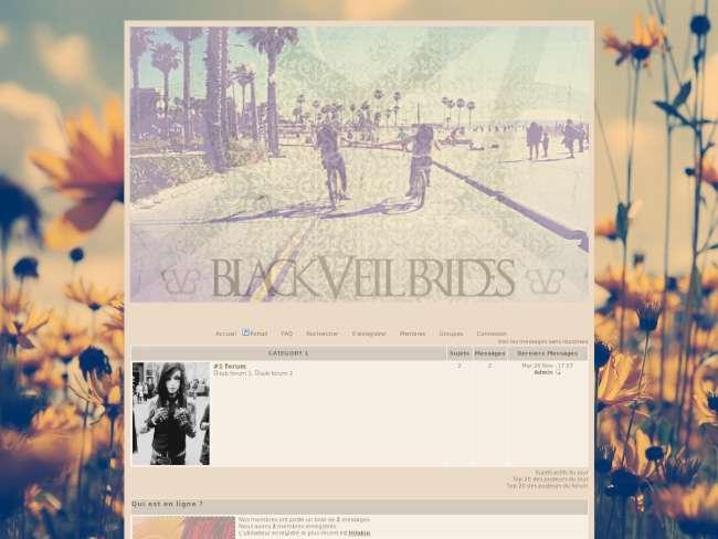 †Black Veil Brides† RPG thème 02