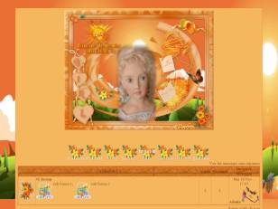 Theme orange juicy