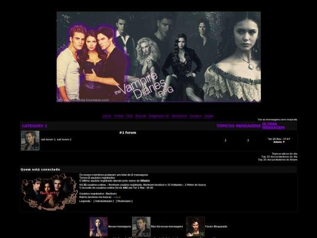 The vampire diaries 1.0