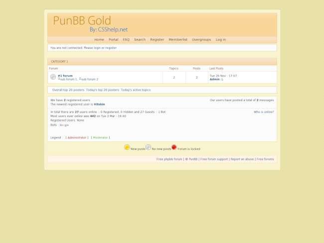 PunBB Gold