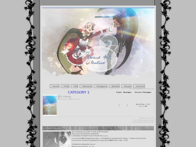Sword art online white