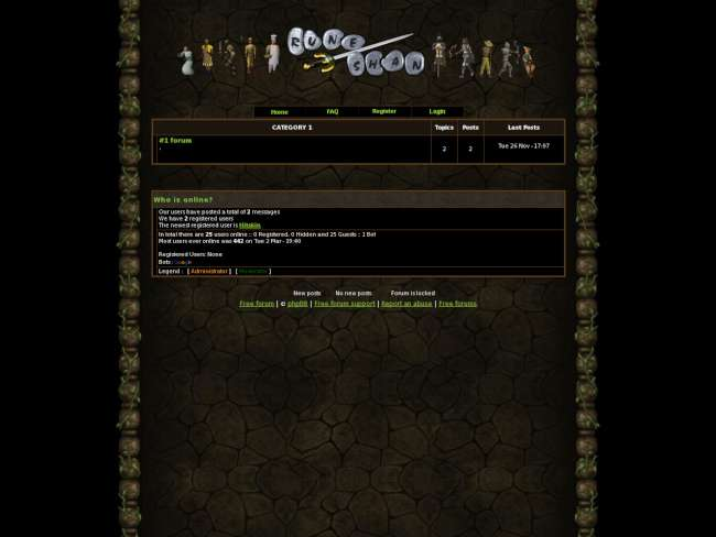 Old-School RuneScape Forums