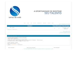 Design web novelas