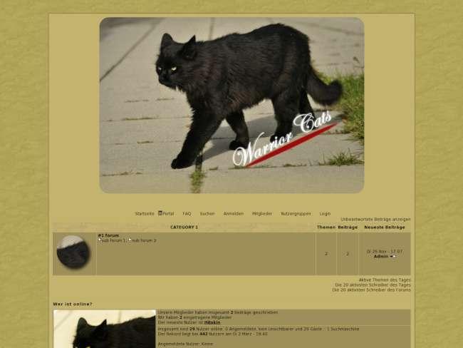 Katzen des waldes