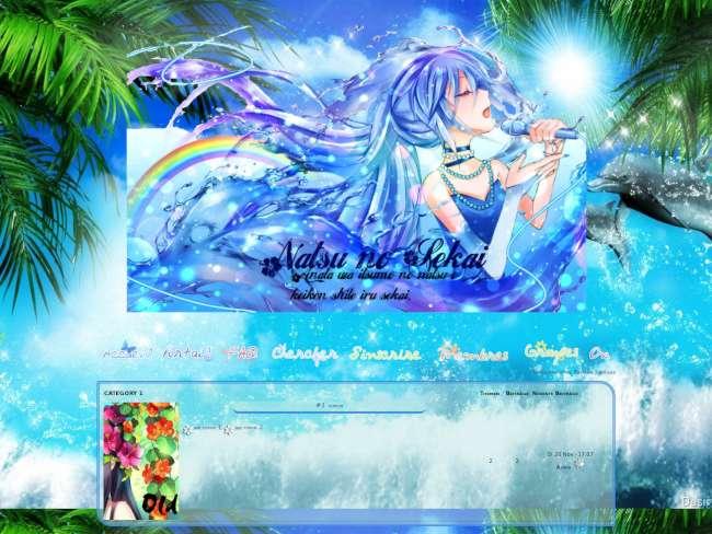 Summer - natsu no sekai