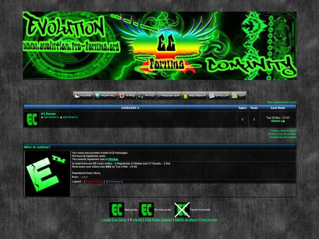 Evolution cyber
