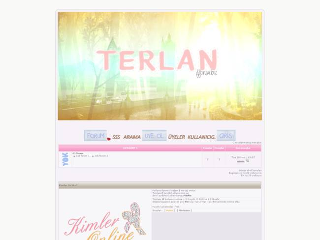 TERLAN FORUM THEME