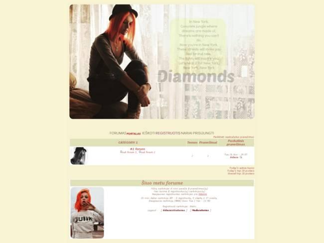 Diamonds (patobulintas)