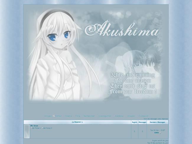 Akushima /!\ Non libre !