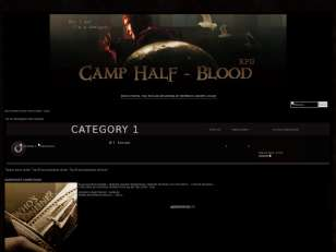 RPG Camp Half Blood