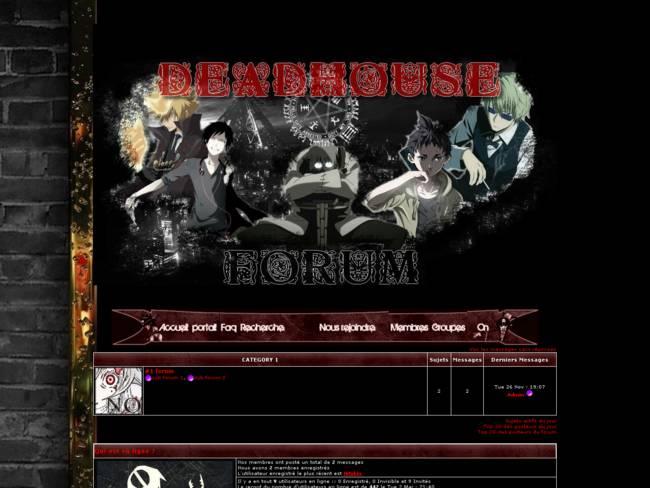 Deadhouse RPG
