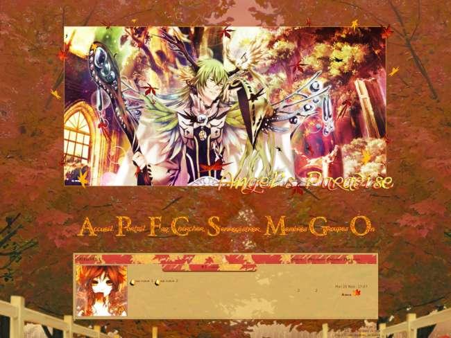 Angel paradise automne...