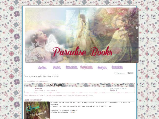 PARADISE BOOKS