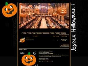 Poudlard halloween the...
