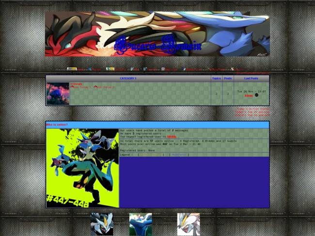 Lucario-Domain X and Y Version