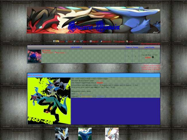 Lucario-domain x and y...