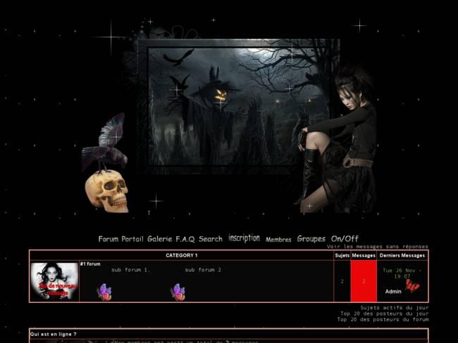 Halloween 2013 Gothique